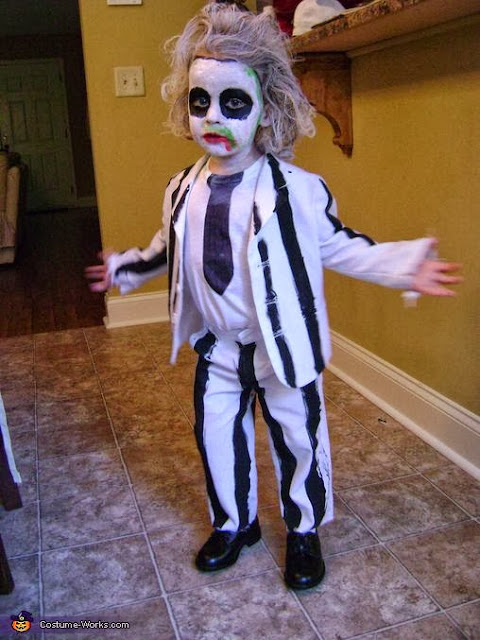Little Beetlejuice Costume Toddler