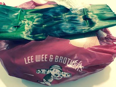 Nasi lemak from Lee Wee & Brothers
