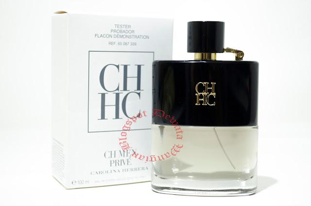 Carolina Herrera CH Men Prive Tester Perfume