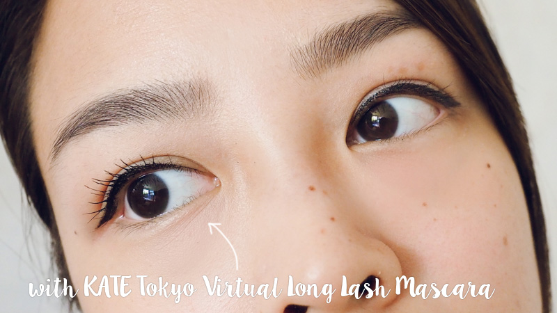 KATE Tokyo Virtual Long Lash review