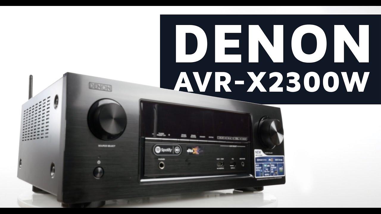 Denon X2300W Sound System Review & Sound Test