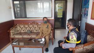 Bhabinkamtibmas Cisaranten Kidul Polsek Gedebage Polrestabes Bandung Rutin Silahturahmi Kamtibmas