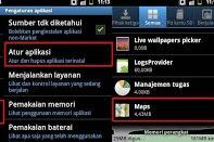 Cara membersihkan cache di dalam smartphone android