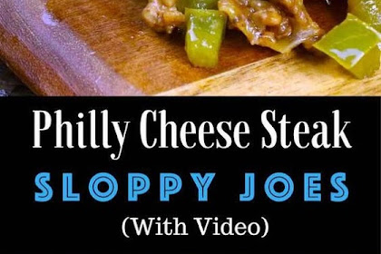 Best Philly Cheese Steak Sloppy Joes