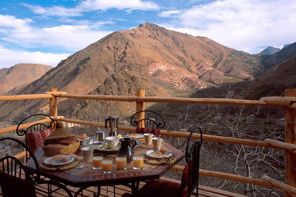 Еда в восхождении на гору Тубкаль