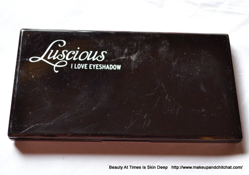 Luscious I love Eyeshadow Glam Night Palette| Palettes for night time party
