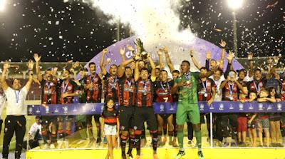 Vitória é campeão da Copa do Nordeste SUB-20