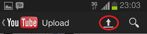 Cara Upload Video Ke YouTube Melalui HP Android