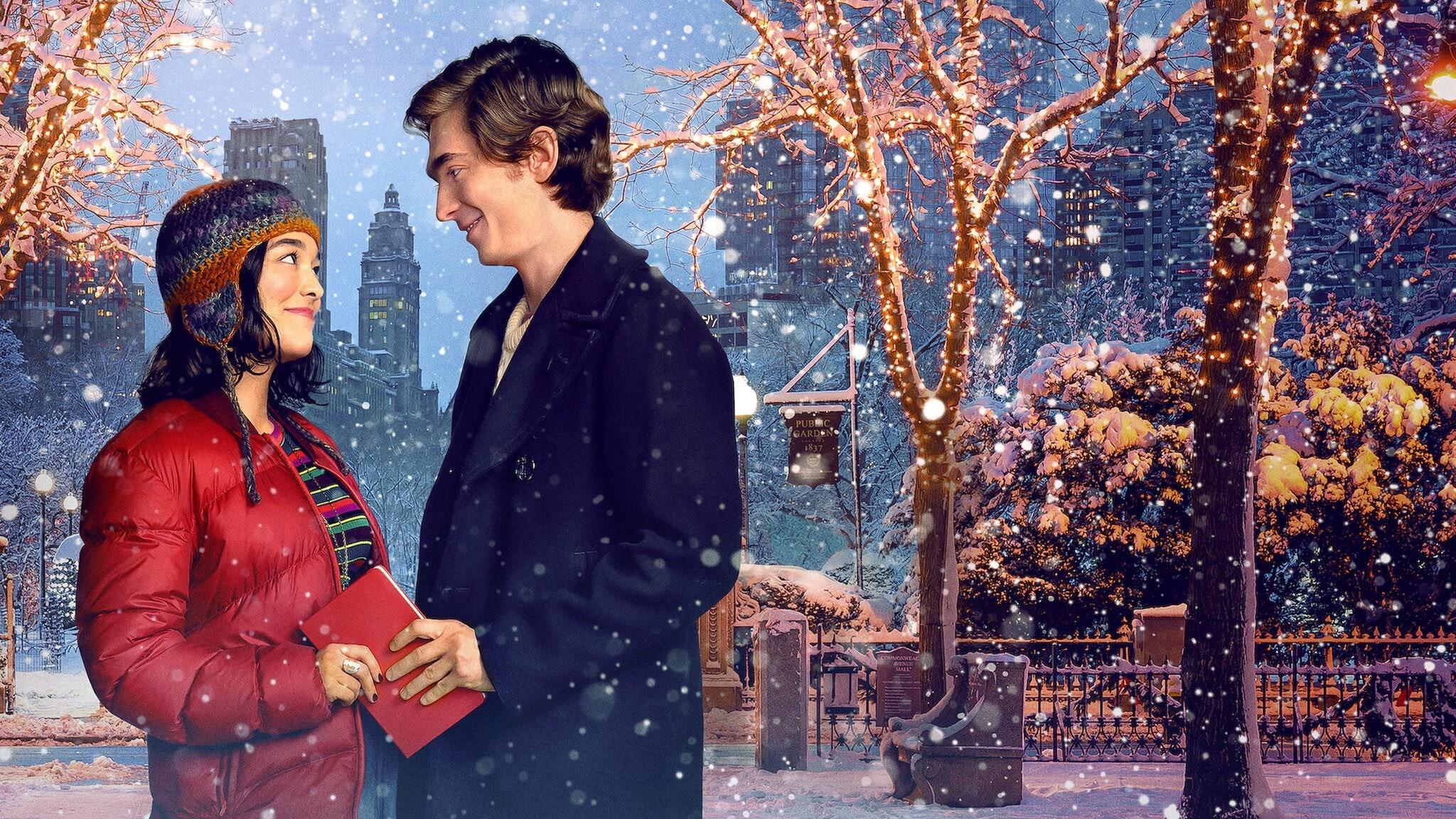 Dash y Lily en un poster promocional