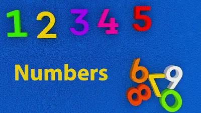 أرقام اللغة الإنجليزية - Numbers in English