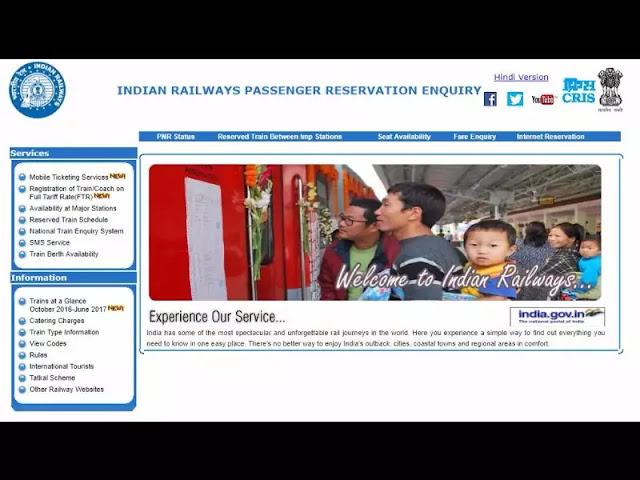 Milestones of Independent India,Online Indian Railways