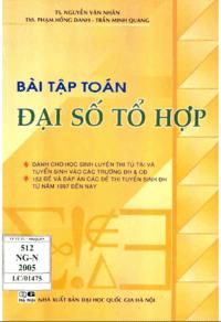 Bài Tập Toán Đại Số Tổ Hợp - Nguyễn Văn Nhân