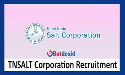 TNSALT Recruitment 2021, Apply for Tamil Nadu Salt Corporation Jobs