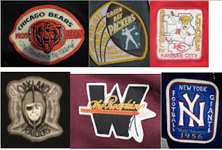 Some made up Throwback Collection jersey patches