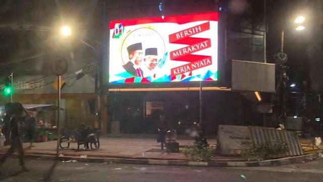 Timses Jokowi Akan Cari Oknum Pendukung yang Pasang Videotron Kampanye