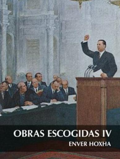 Tomo IV de Enver Hoxha