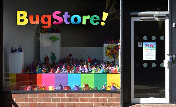 paper bugs, paul stickland pop up workshops,