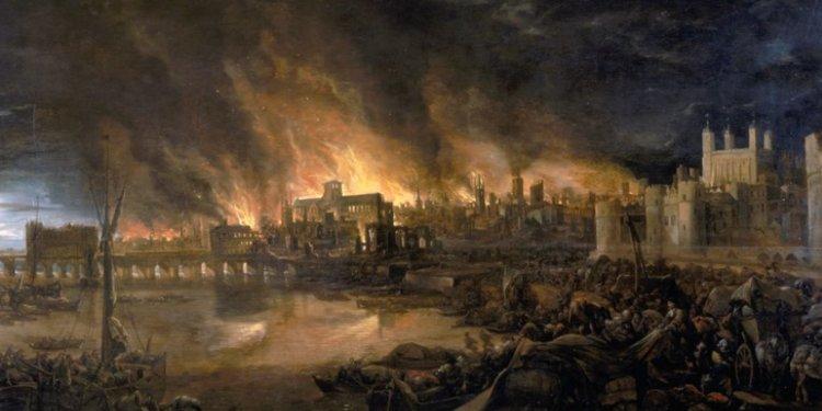 Londra'nın Büyük Ateşi