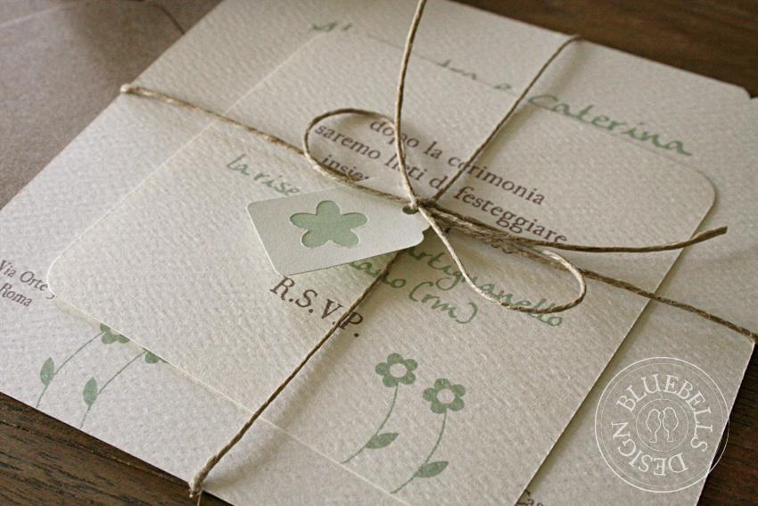 Famoso Bluebells Design: Wedding Suite: un matrimonio Country SI11