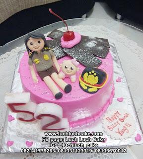 Kue tart Ulang Tahun Polwan