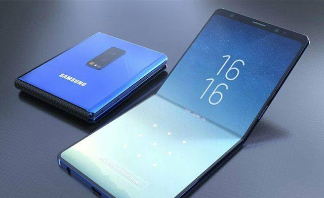 Samsung is working on new smartphone designs, the best new unique phone of its kind