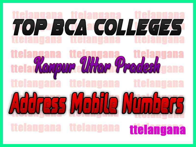 Top BCA Colleges in Kanpur Uttar Pradesh