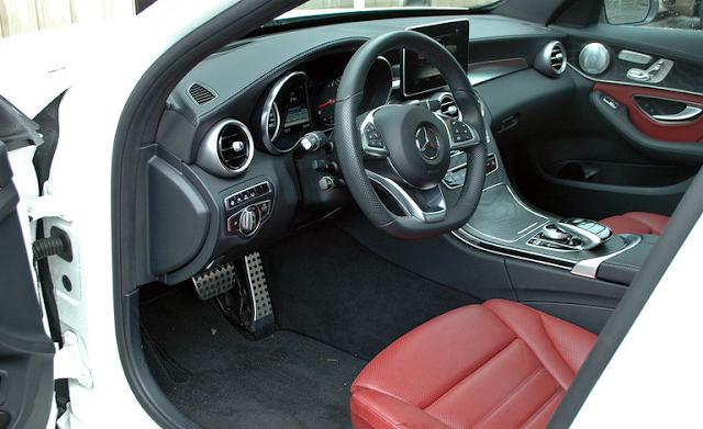 2015 Mercedes C400 - Driven Inside