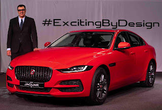 NEW JAGUAR XE LAUNCHED IN INDIA FROM₹44.98 LAKH