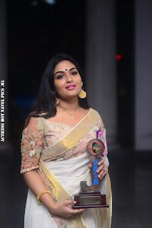 Prayaga Martin Hot In Saree