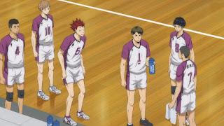ハイキュー!! アニメ 3期2話 | 白鳥沢学園高校 | Karasuno vs Shiratorizawa | HAIKYU!! Season3
