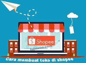 Cara membuat toko online di shopee