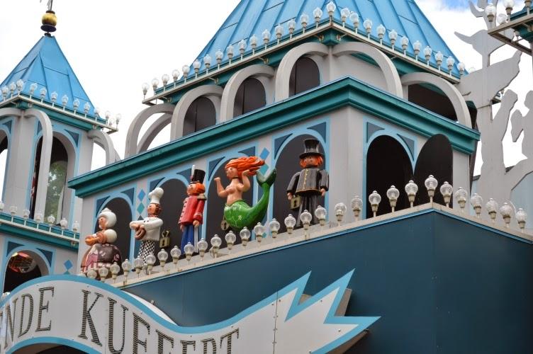 Tivoli, Copenhagen, amusement park, Denmark, Dánsko, zábavní park, pouť, Kodaň