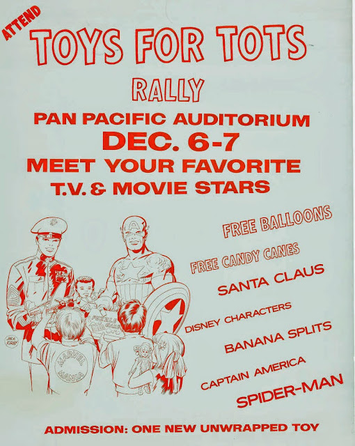 Toys For Tots Promotional Posters : Rip jagger s dojo