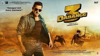 Dabangg 3 Movie 2019 Full HD download, Tamilrockers, 9xmovies, Tamilmv, Hindilinks4u, FilmyHit Bollywood movie