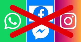 Facebook, Messenger, WhatsApp et Instagram en panne !