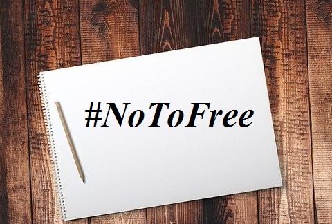 नई हिंदी के लेखकों द्वारा चलाई जा रही मुहिम #NoToFree  क्या हैं ?