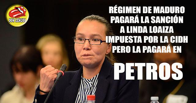 Régimen pagará en Petros la indemnización a Linda Loaiza ordenada por la CIDH