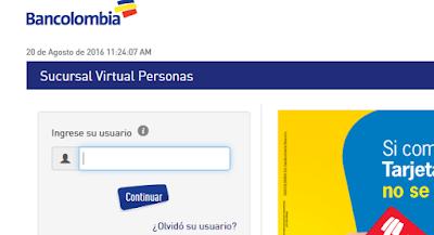 c mo inscribir una cuenta bancolombia en la sucursal
