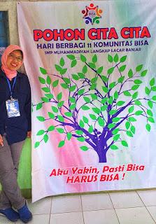 Pohon Cita-cita di SMP Muhammadiyah