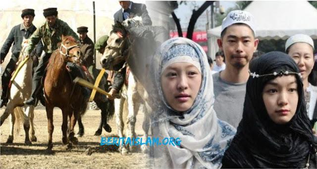 Seorang pria Uighur bahkan menyumbangkan 11 ekor kudanya bantu penanganan corona