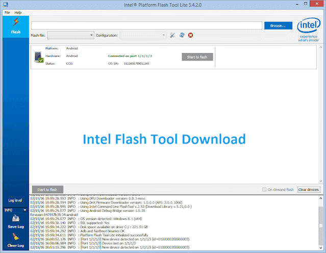 Intel-Flash-Tool-Latest-Version-Download