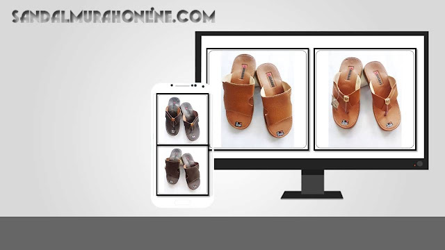 Pusat Grosir Sandal Pria Murah Dinar MAs Moca