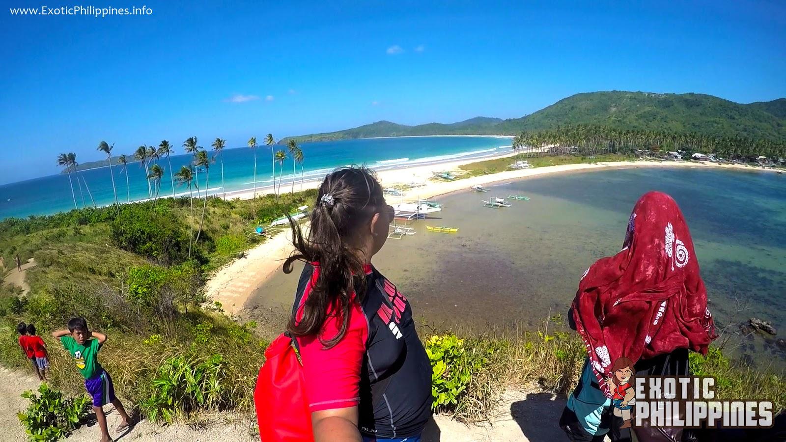 Nacpan Beach and Calitang Beach El Nido Twin Beach Palawan Exotic Philippines Travel Blogger Blog Vlogger
