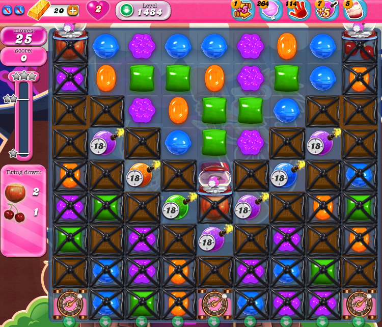 Candy Crush Saga 1484