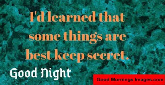 Lovely good night