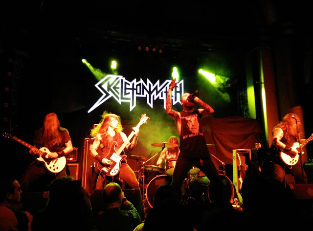 Skeletonwitch en Arena (Madrid)
