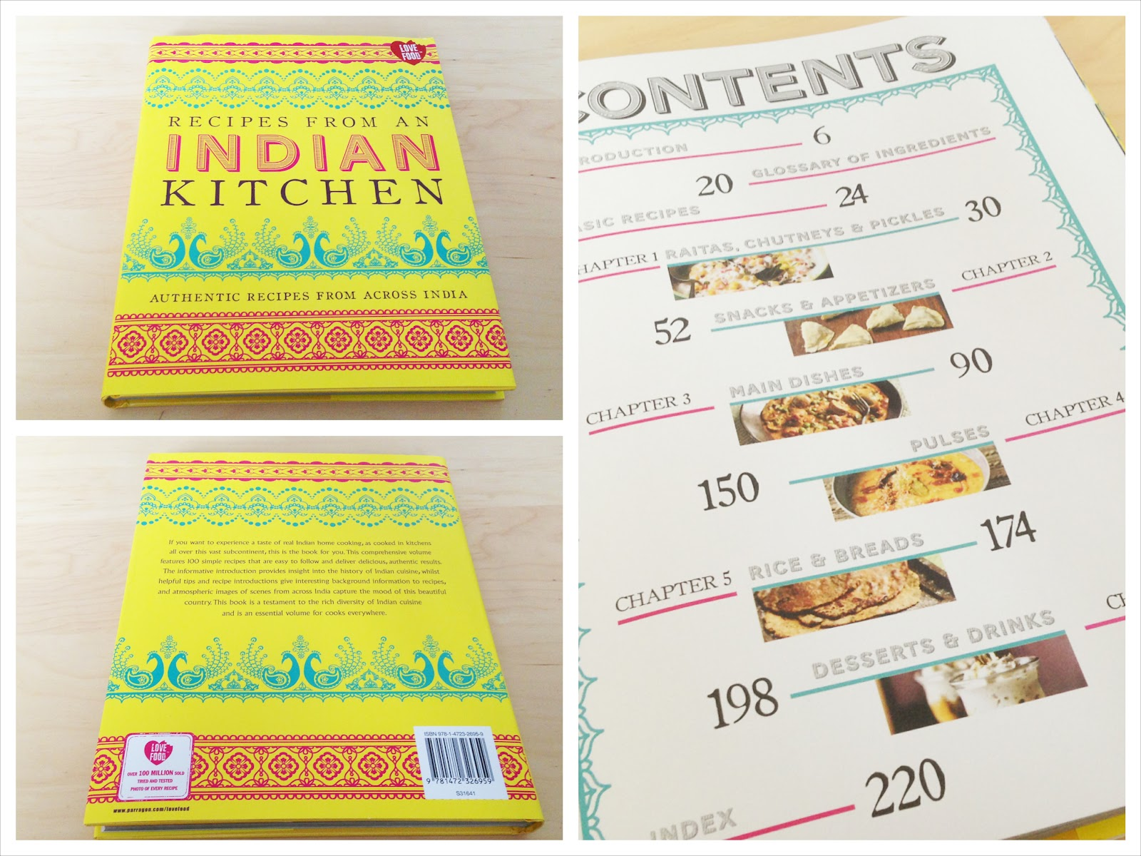 Recipes From An Indian Kitchen – Book Review