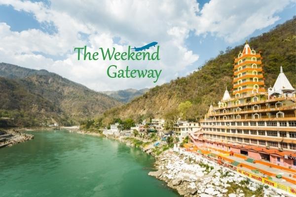 Ganges and Rishikesh city