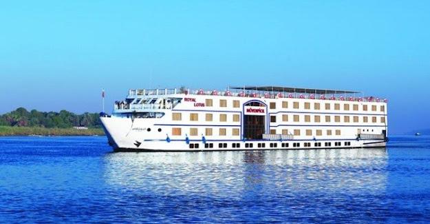 M/S Movenpick Hamees Cruceros por el nilo