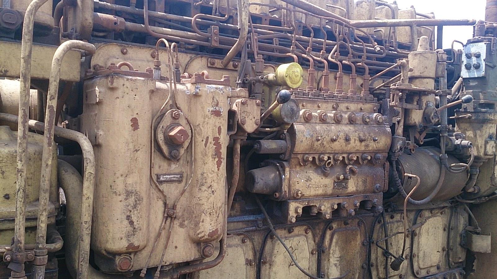 SKL Engine spare parts for sale